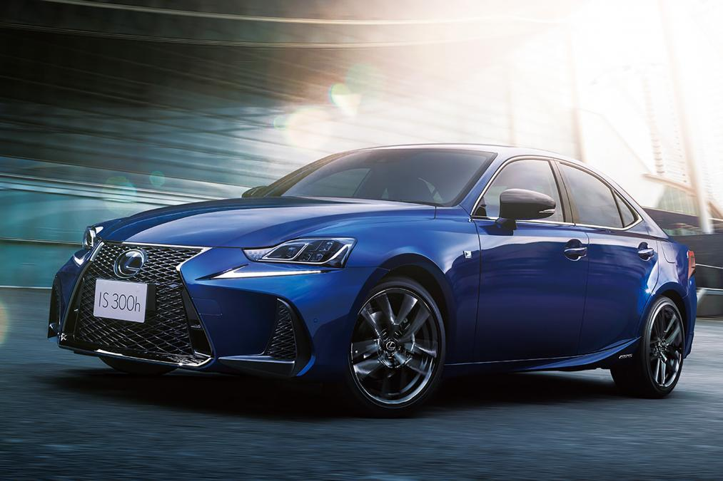 2020 lexus is i blue 1